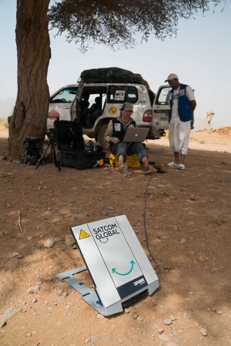 Sir Ranulph Fiennes MDS challenge-3Sir Ranulph Fiennes Sahara 2