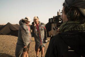 Sir Ranulph Fiennes MDS challengeSir Ranulph Fiennes Sahara 2-6