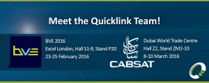 BVE and CABSAT 2016